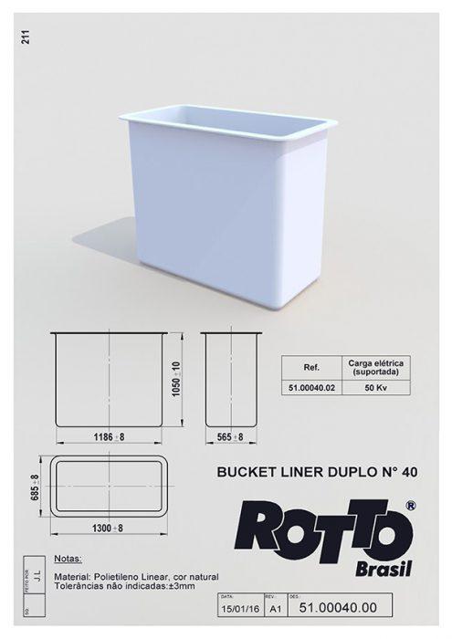 Bucket-Liner-n40-51-00040-00-40-A1