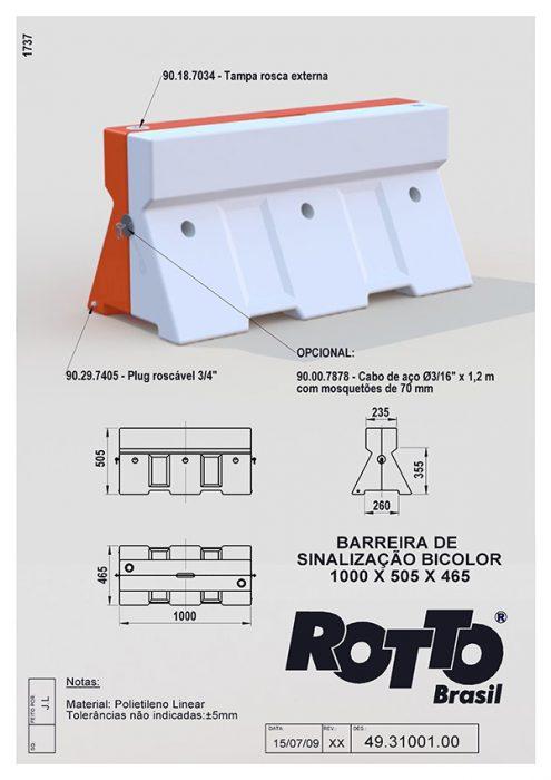 Barreira-de-Sinalizacao-Bicolor-1000-x-505-x-465-49-31001-00-40-XX