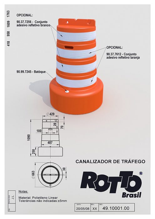 Canalizador-de-Trafego-49-10001-00-40-XX